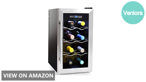 NutriChef 8 Bottle Thermoelectric Wine Cooler