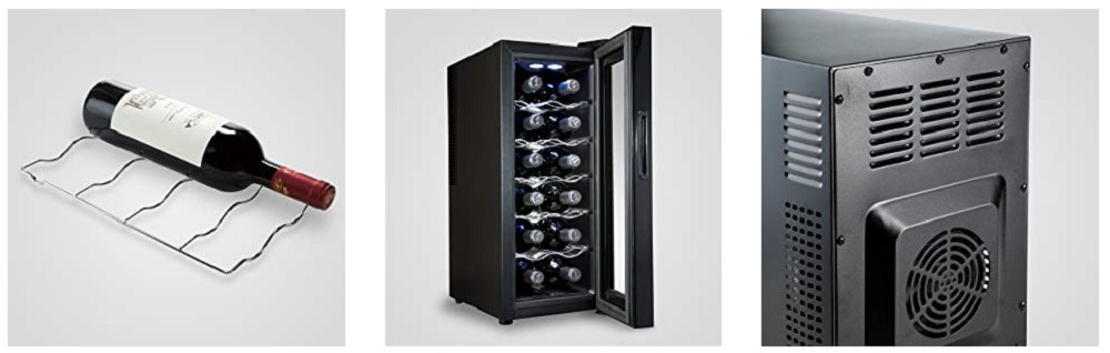 Wine Enthusiast 12 Bottle Wine Cooler Review