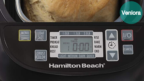 How do you keep bread machine bread fresh?