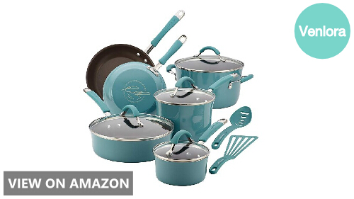 Rachael Ray Cucina 16344 vs 87641: 12-Piece Cookware Set Comparison