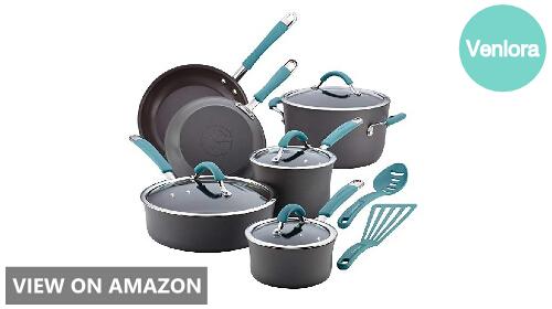 Rachael Ray Cucina 87641 vs 16344: 12-Piece Cookware Set Comparison