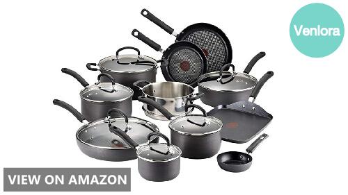T-fal E765SH vs Cuisinart 66-17N: Cookware Set Comparison