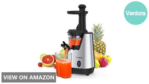 Homgeek Juicer Slow Masticating Juicer Extractor