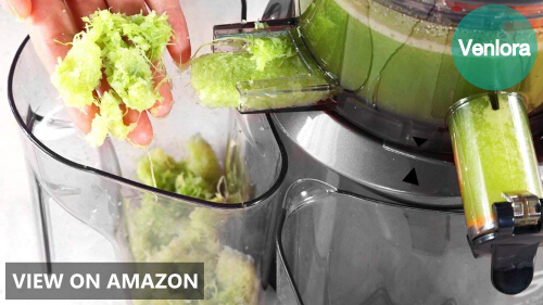 SKG Wide Chute Anti-Oxidation Slow Masticating Juicer