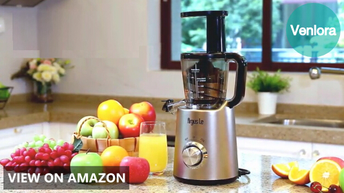 Argus Le Slow Juicer, Compact Design Masticating Juicer