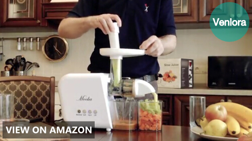 Mooka Slow Masticating Juicer Extractor