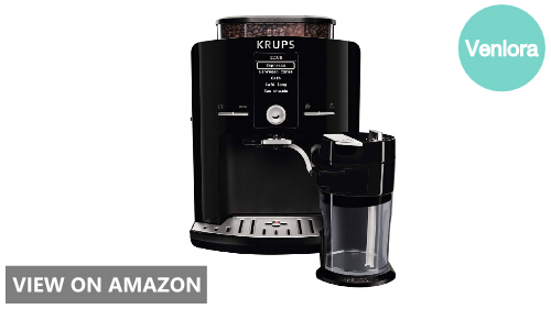 KRUPS EA8298 Super Automatic Latte Espresso Compact Size Espresso Machine