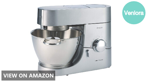 Kenwood KMC011 5 quart Chef Titanium Kitchen Machine Review