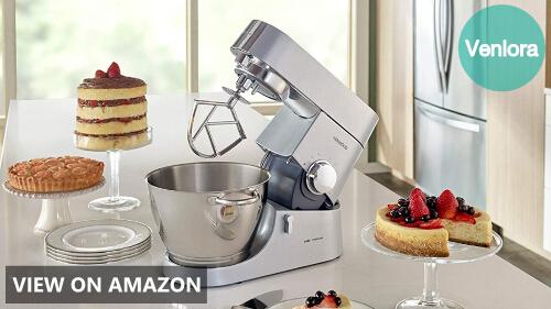 Kenwood KMC011 5 quart Chef Titanium Kitchen Machine