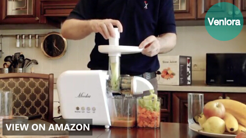 Mooka Slow Masticating Juicer Extractor Review (B5100 Model)