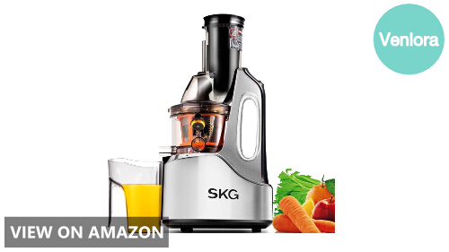 SKG Wide Chute Anti-Oxidation Slow Masticating Juicer Review