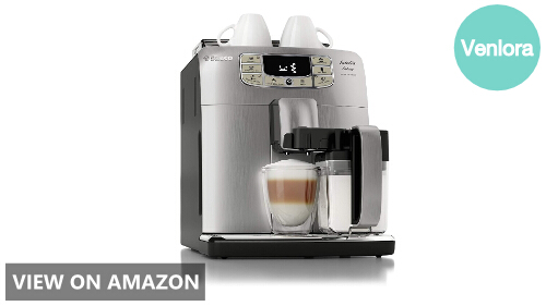 Saeco Intelia Cappuccino Deluxe Automatic Espresso Machine Review (HD8771/93 Model)