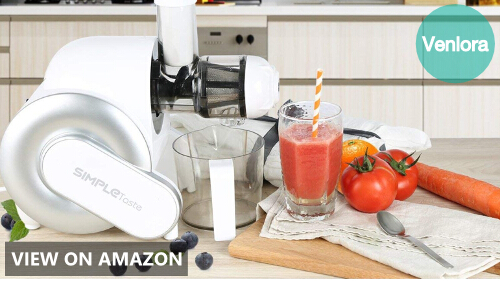 SimpleTaste Electric Masticating Juicer Extractor Review (708NA-0002 Model)