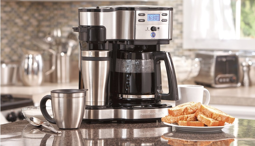 Which Coffee Makers Have a Hot Water System