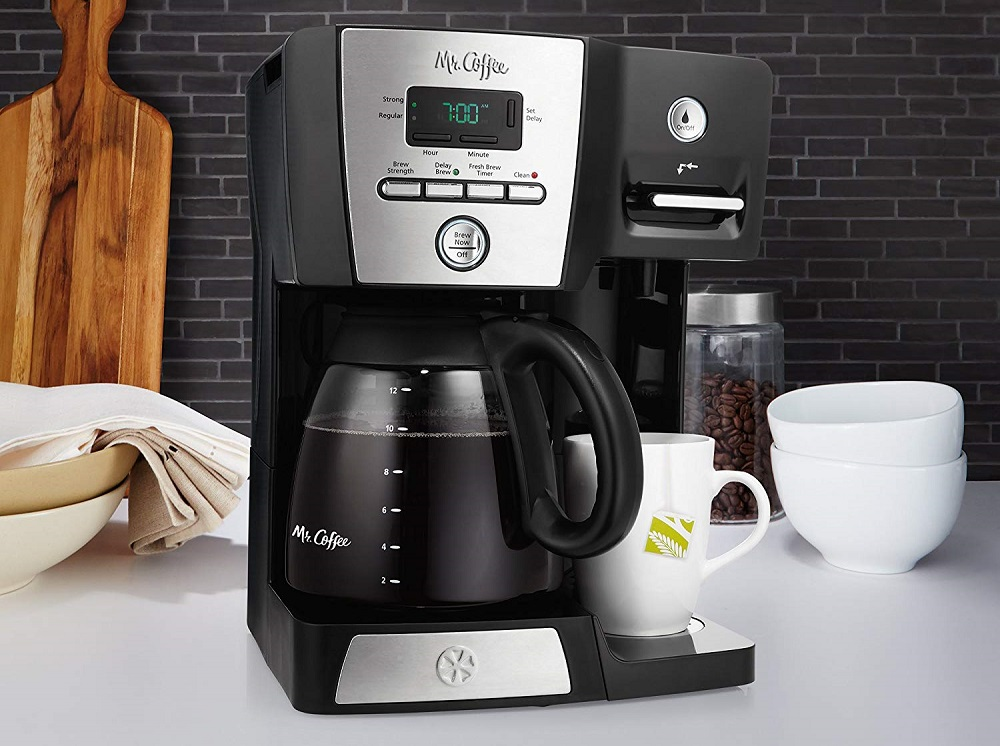 What's the best coffee maker with hot water dispenser built-in