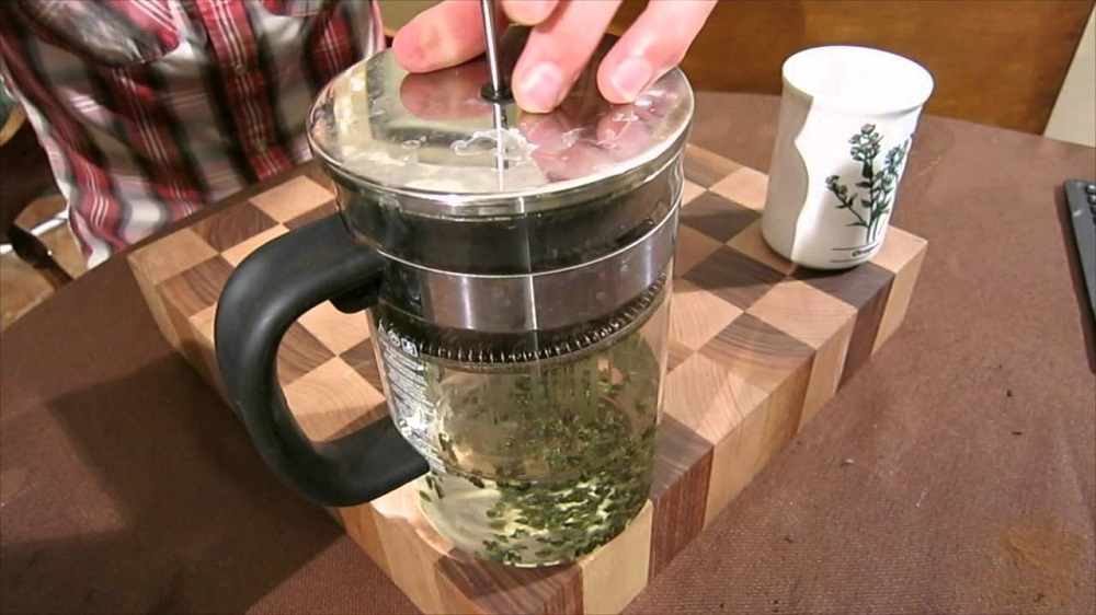 can you put a french press on the stove
