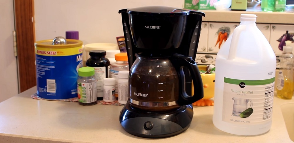 how do you clean a coffee maker without vinegar