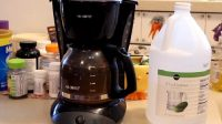 How to Clean a Coffee Maker With Vinegar Info Guide