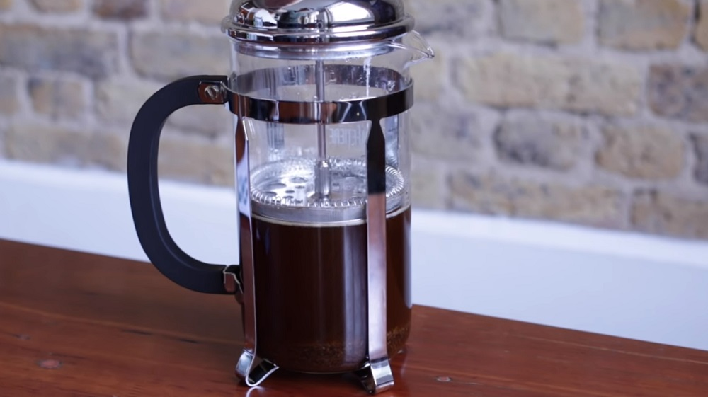 how to filter french press coffee