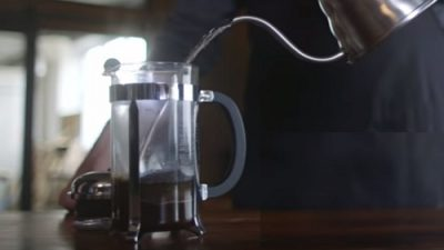 French Press Use