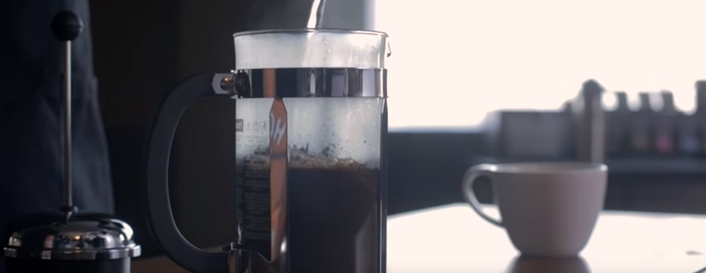 How does the French press work?
