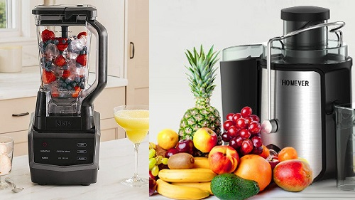 🥇 Juicer or Blender: What to Choose?
