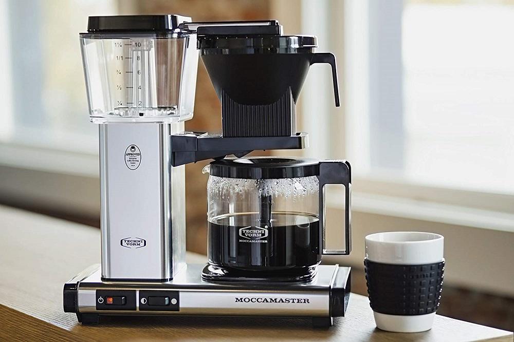 batch brew hot filter coffee