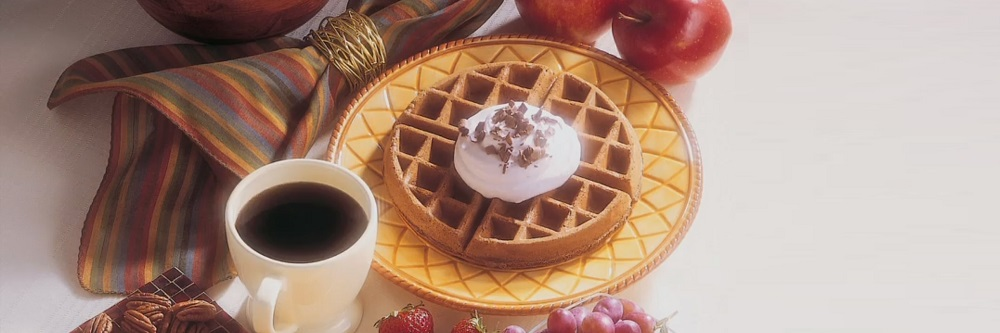 Why do people like waffle irons that flip?