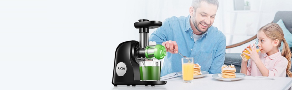 Aicok Masticating Slow Juicer Review
