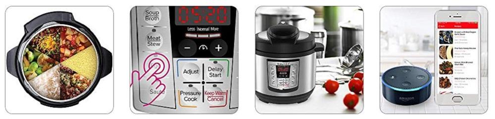 Instant Pot LUX Mini Pressure Cooker