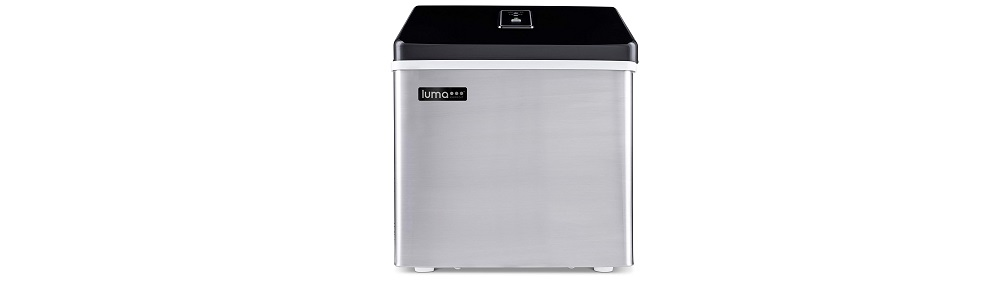 Luma Comfort IM200SS Portable Clear Ice Maker, Stainless Steel Review